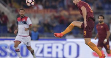 Il primo gol di Dzeko