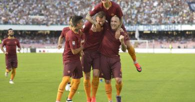 Il secondo gol di Dzeko