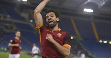 L'esultanza di Salah