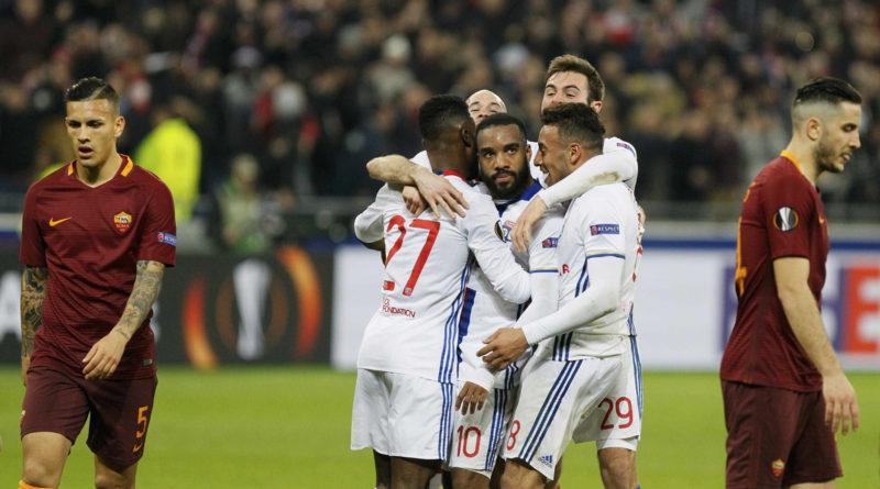 Lione Roma 4-2