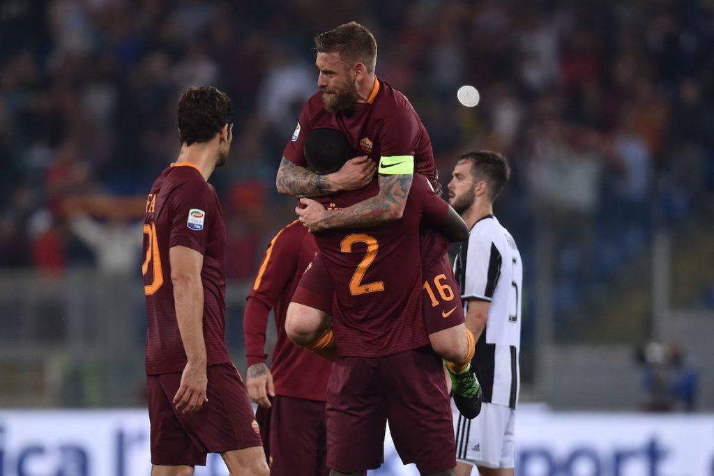 Roma Juve 3-1