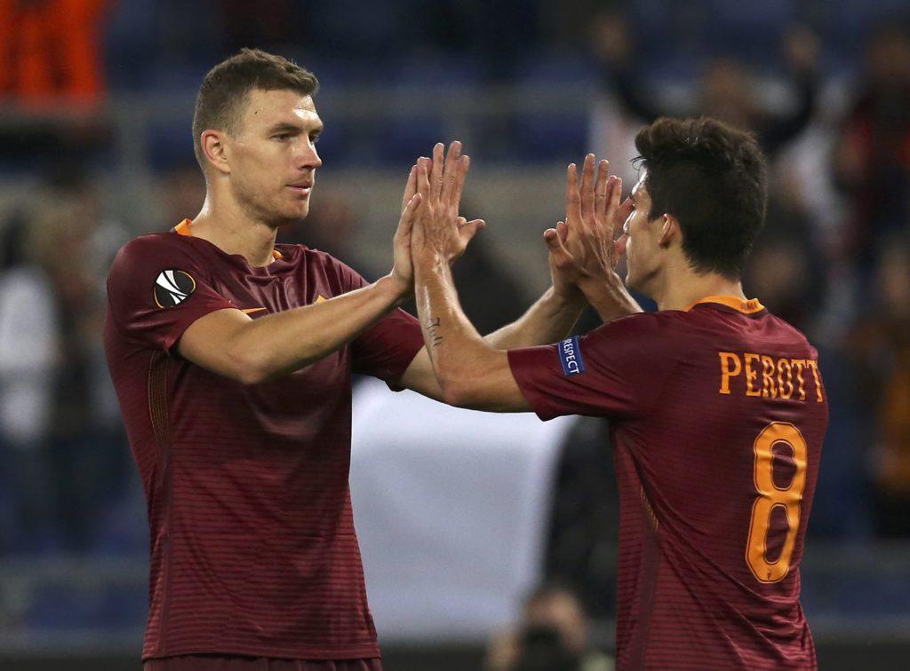 Dzeko e Perotti