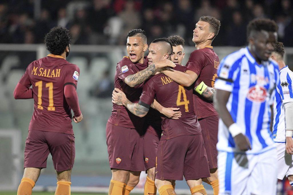 Pescara 1-4 Roma